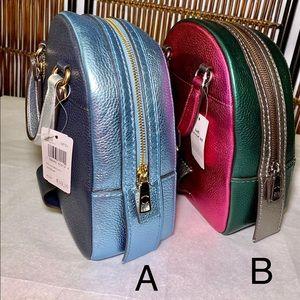 Coach metallic leather backpacks- 🎒Brand New- 🎒